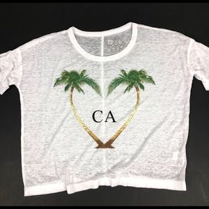 Chaser | CA Graphic Oversized Tee Burnout Thin